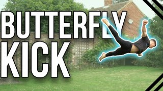 How to Butterfly Kick | Beginner Tricking & Freerunning Tutorial