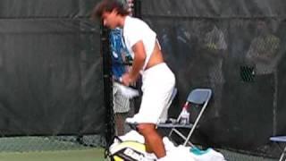 Rafa Changes His Shirt~Cincinnati ATP Masters