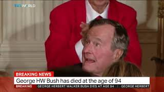 George HW Bush has died at the age of 94