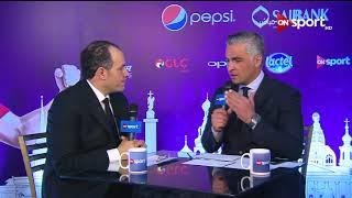 """لقاء مع """" محمد كامل """"  رئيس شركة بريزنتيشن والكشف عن الطائرة الخاصة بالمنتخب المصري"""