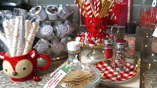 HOLIDAY COFFEE BAR // HOT COCOA STATION // CHRISTMAS 2017