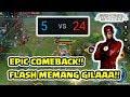 Download Video Epic Comebackk! Ketinggalan 20 Skor! Masih BISAA! Flash AMAZING! - Arena of Valor AOV 3GP MP4 FLV