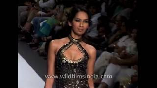 Deepika Padukone and Noyonika Chatterjee adorn black and golden number for Ritu Kumar