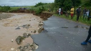 SPECIAL REPORT: Flood rains batter Jamaica ... Residents trapped ... Schools out ... Roads inundated