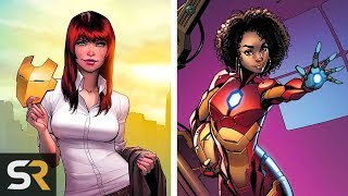25 Characters Who Have Worn Iron Man