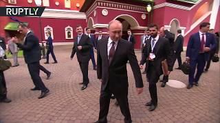 بوتين ومودي يتجولان في شوارع سوتشي