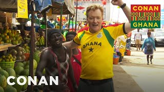 Conan Hits The Streets Of Accra - CONAN on TBS