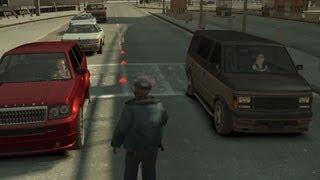 GTA IV:LCPD Mod - حرامي السيارات : مود الشرطة 9# - تفتيش الفتيان السمان