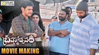 Brahmotsavam Movie Latest Making Video | Mahesh Babu | Kajal Aggarwal | Samantha | Filmyfocus.com