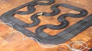 Carrera Universal Teststrecke 375 Schienen 2 Runden.AVI
