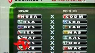 تقرير عن نتائج قرعة الدوري المغربي المحترف 2011/2012
