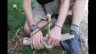 Primitive Fire Iroquois Fire Drill Pump