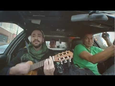 Car Sessions #5 (from a NYC Taxi) - The Temptations - My Girl (cover by Alex Serra & Little N)