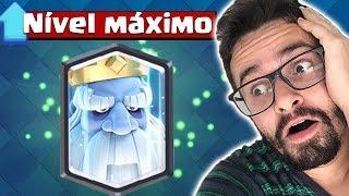 FANTASMA REAL NO NÍVEL MÁXIMO !!!! CLASH ROYALE
