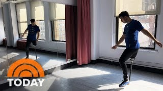 This 1-Legged Dancer Is Still Making Moves After Cancer Diagnosis | TODAY