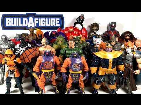 Xxx Mp4 Build A Figure Ranking Worst To Best Hasbro Marvel Legends BAF 2012 2017 23 Figures 3gp Sex