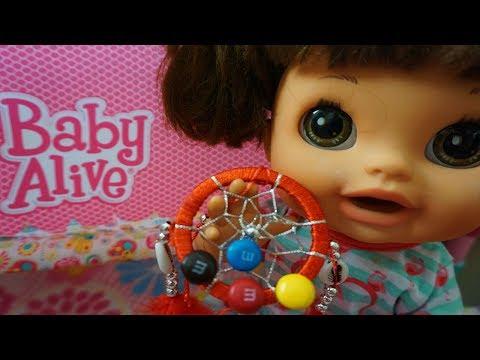 BABY ALIVE Dreamcatcher Catches Their Dreams! Baby Dolls & Little Girls