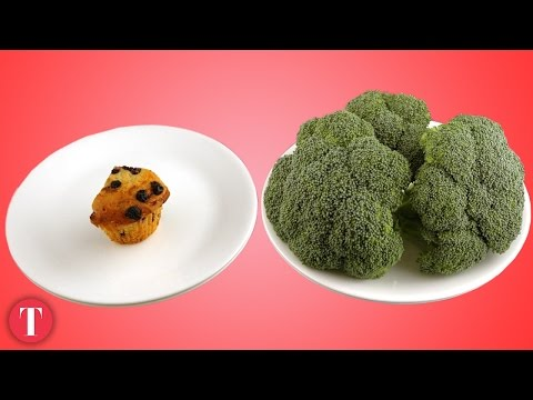 This Is What 200 Calories Look Like Junk vs. Healthy Food