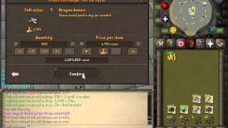 Selling Zulrah tab (250 kills, roughly 14 hours)