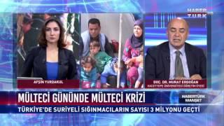 Habertürk Manşet - 20 Haziran 2017 (Mülteci Günü)
