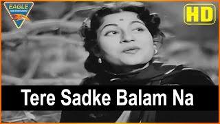 Amar Hindi Movie || Tere Sadke Balam Na Video Song || Dilip Kumar || Eagle Hindi Movies