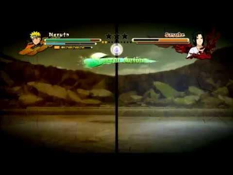 Naruto vs Sasuke Storm 3 - This Time It's Different GMV