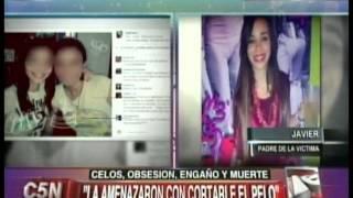 C5N - POLICIALES: AHORCO POR CELOS A LA EX DE SU NOVIO, HABLAN LOS PAPAS DE LA VICTIMA