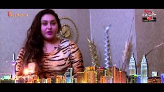 Actress Namitha's Credit to Alamandra Quest Audio Album Launching