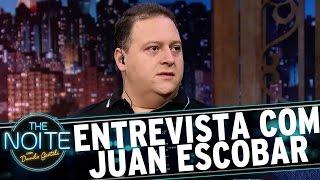 Entrevista com Juan Pablo Escobar | The Noite (24/04/17)