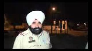 Drunk Punjab police official beats up media!