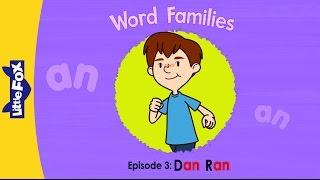 Word Families 3: Dan Ran | Level 1 | By Little Fox