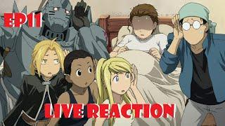 Fullmetal Alchemist: Brotherhood Live Reaction Episode 11 - Robo City