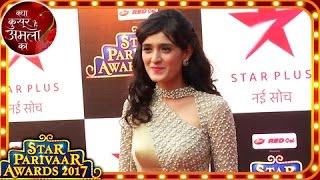 Kya Kasoor Hai Amla Ka Fame Actress Pankhuri Awasthy At Star Parivaar Awards 2017