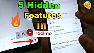 Hidden Features In All Realme Phones