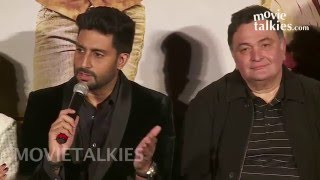 All Is Well Movie Promotions | Abhishek Bachchan, Asin, Rishi Kapoor, Supriya