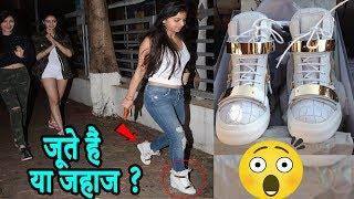 Shahrukh Khan की बेटी के जूतों की कीमत आपके होश उड़ा देगी?Did you know Suhana Khan shoes price?