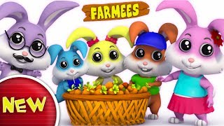 Rabbit Finger Family | Nursery Rhymes For Kids | Baby Songs | Children Rhymes by Farmees S02E165