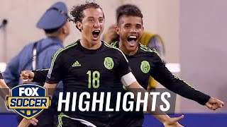 Watch all of Mexico's 2015 Gold Cup goals - 2015 CONCACAF Gold Cup Highlights