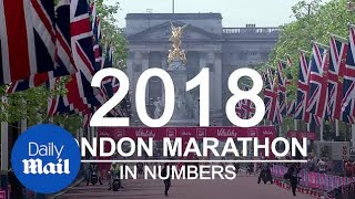 The Virgin Money London Marathon 2018 in numbers - Daily Mail