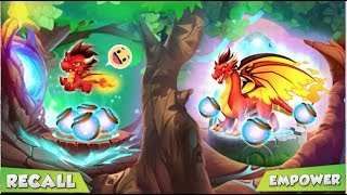 Sneak Peek RECALL and EMPOWER your Dragons - Dragon City