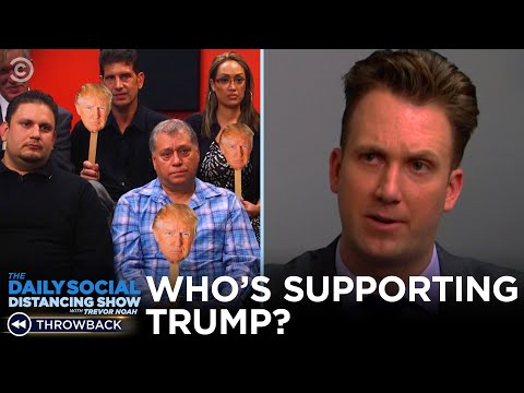Who s Actually Supporting Donald Trump The Daily Show