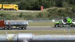 Truck Grand Prix 2011  Nürburgring US Truck Konvoi