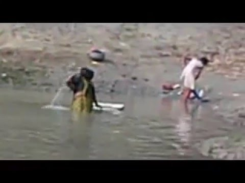 Indian Deshi Lovely Young girl / House Boudi Suming On the River Open story