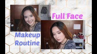 My Full Face Makeup Routine 2017 | Philippines