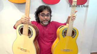 Simplicio 1929 Andalusian male/female guitars vs Barbero´s + Double vs Triple boca flamenco sound