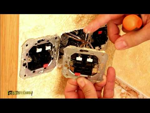 Cambiar doble interruptor alumbrado.