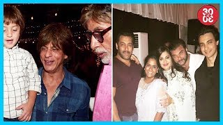 Amitabh Bachchan Bought Cotton Candies For AbRam, Khan Family's Double Celebration