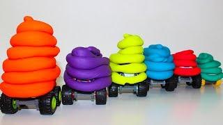 Учим цвета Вспыш и чудо машинки новые серии Развивающие мультики про машинки Learn colors Play Doh