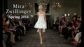 Mira Zwillinger Spring 2016 Couture Bridal Collection - 3 Cameras Edit