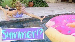 How Girls Get Ready for Summer! + GIVEAWAY!   Sasha Morga